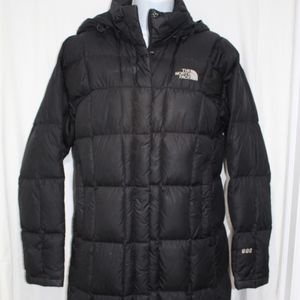 THE NORTH FACE Black 600 Long Down Puffer Coat S